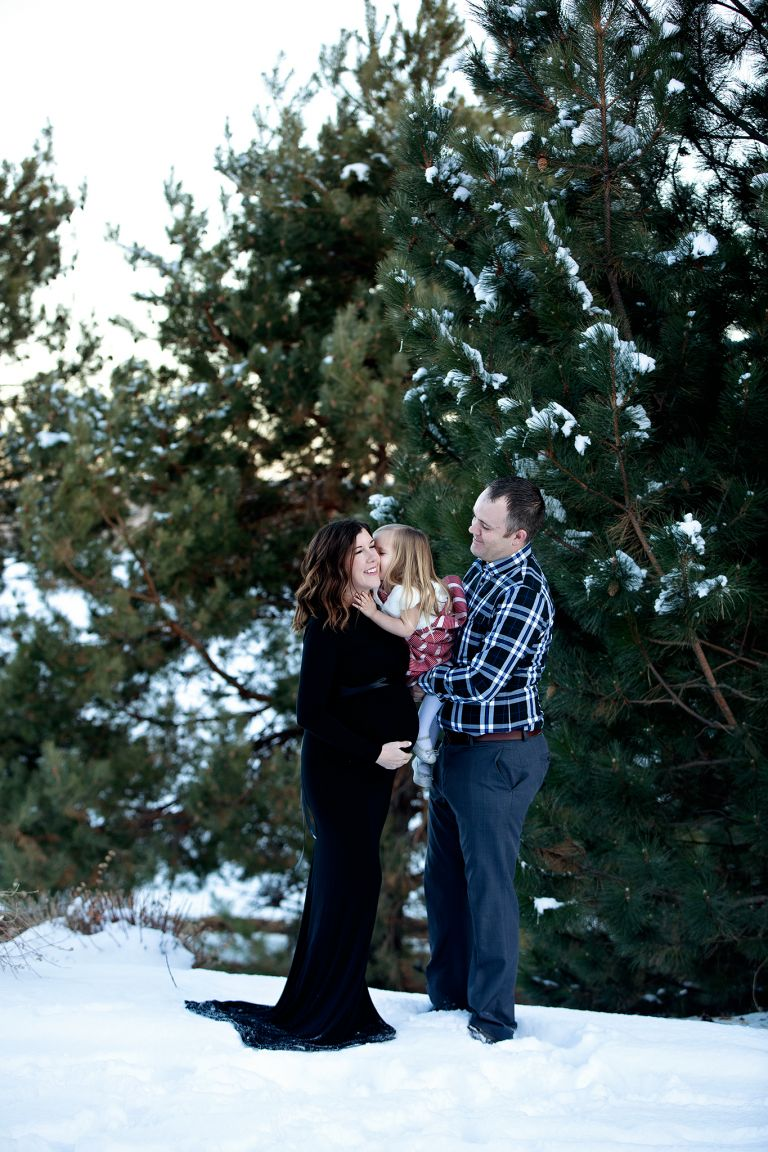 denver family maternity session