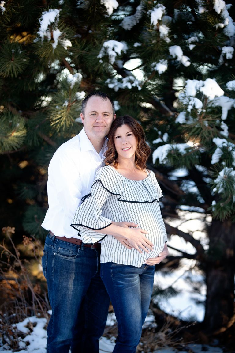 fort collins maternity photoshoot
