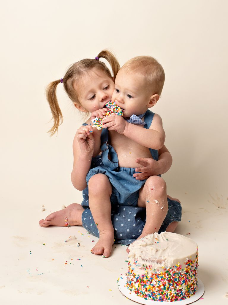 denver cake smash photoshoot